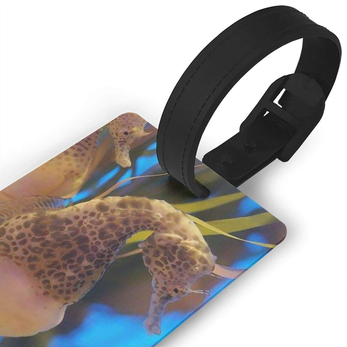 Sea Horse Travel Tags For Travel Bag Suitcase Accessories 2 Pack Luggage Tags