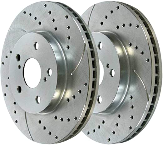 AutoShack R65176R65180 Set of 4 Front and Rear Disc Brake Rotors Replacement for 2010 2011 2012 Chevrolet Equinox GMC Terrain