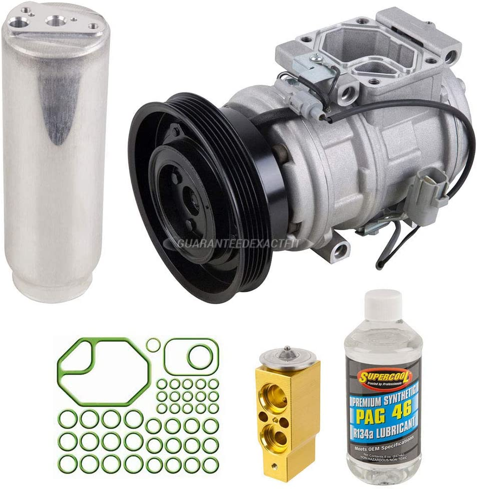For Toyota Camry Celica Solara AC Compressor w//A//C Repair Kit BuyAutoParts 60-80128RK New