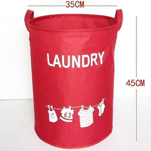 CHENHUI Caja de Almacenamiento Cesta de lavandería Bolsa de ...
