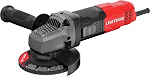 CRAFTSMAN Small Angle Grinder Tool 4-1/2-Inch, 6-Amp (CMEG100)