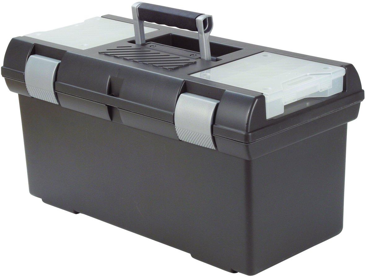 Polipropileno CURVER 155338 Combi XL Caja de Herramientas Color Negro