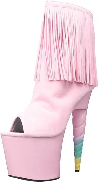 Ellie Shoes Women s 777-prince Platform Sandal Pink 6 US 6 ... 941eb7064