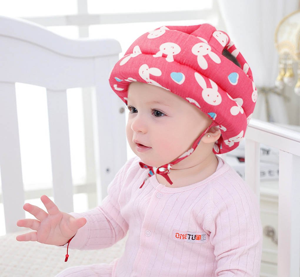 Toppers Baby Head Helmet Toddler Kids No Bumps Head Cushion Safety Helmet Rabbit