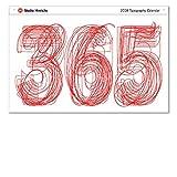 365 Studio Hinrichs Typography Calendar (2 sizes available) (2018 23