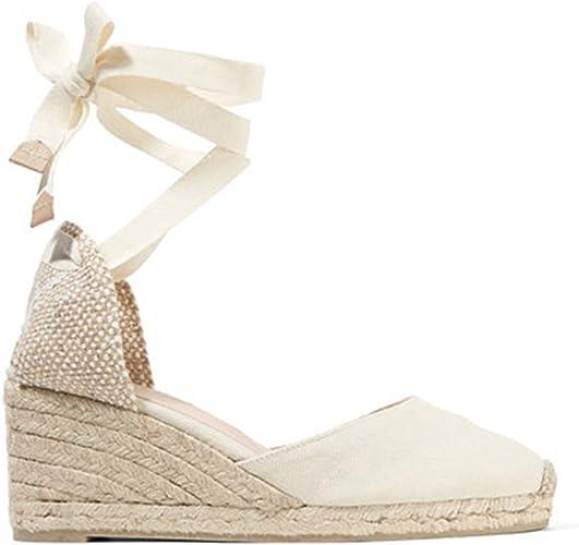 Wedge Sandals New Summer Canvas