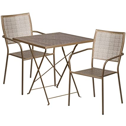 Amazoncom Restaurant Tables And Chairs Panini Small - Restaurant bistro table and chairs