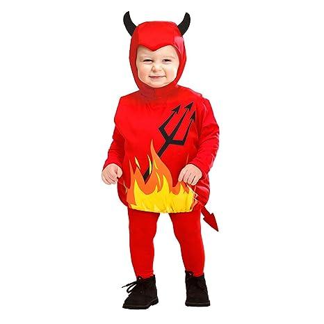 Costume Bambini Diavoletto Taglia 90-104 cm   1-3 Anni  Amazon.it ... 26dd97a184be