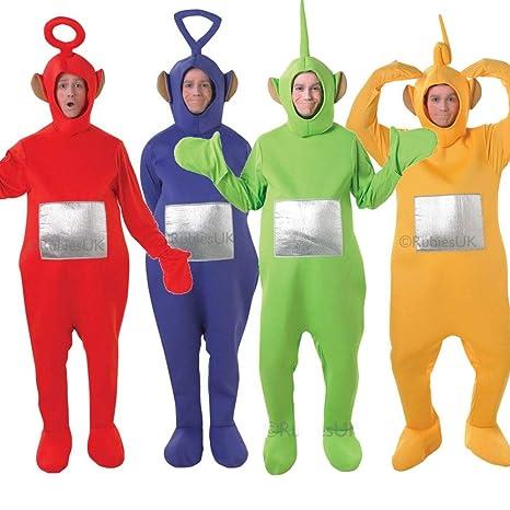 Tutti i 4 da uomo da donna da Teletubbies Teletubby con cervo costumi e  feste in 4ba4747771c