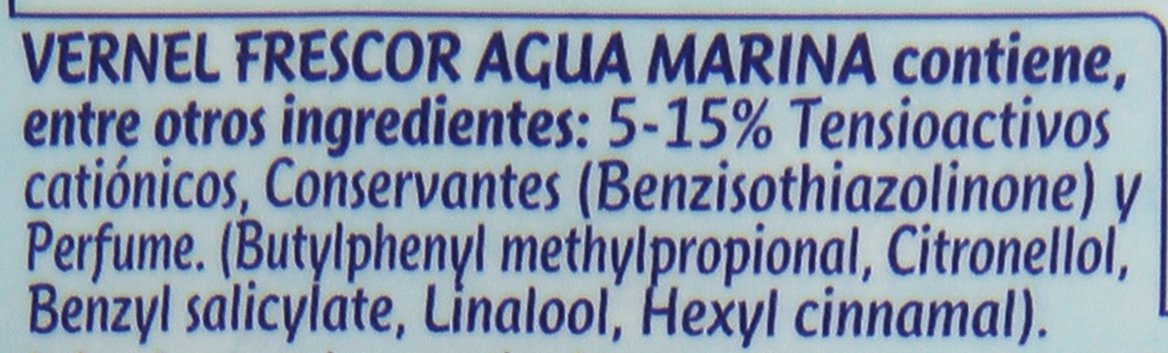 [Pack de 2] VERNEL Suavizante Concentrado Frescor Botella 57 lavados: Amazon.es: Salud y cuidado personal