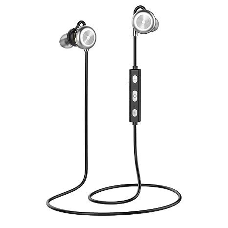 Auriculares Bluetooth, BARA X9 Magnéticos Casco Bluetooth 4.1 Auriculares Deportivos Inalámbricos con Mic, estéreo