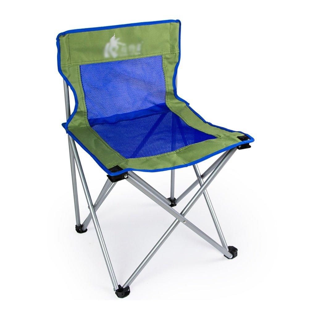 店舗良い ポータブル釣りバーベキューアウトドアレジャー背もたれ椅子軽量厚み換気折りたたみキャンプ椅子withメッシュ B07D9YPRWQ ブルー ブルー B07D9YPRWQ, アップルスポーツ:df15ae3e --- cliente.opweb0005.servidorwebfacil.com