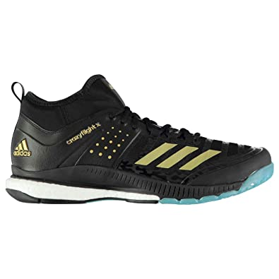 adidas Crazyflight X Mid, Chaussures de Volleyball Homme, Multicolore (Ftwbla/Plamet /