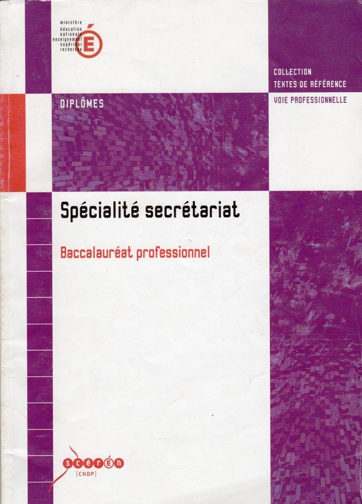 Specialite Secretariat Baccalaureat Professionnel