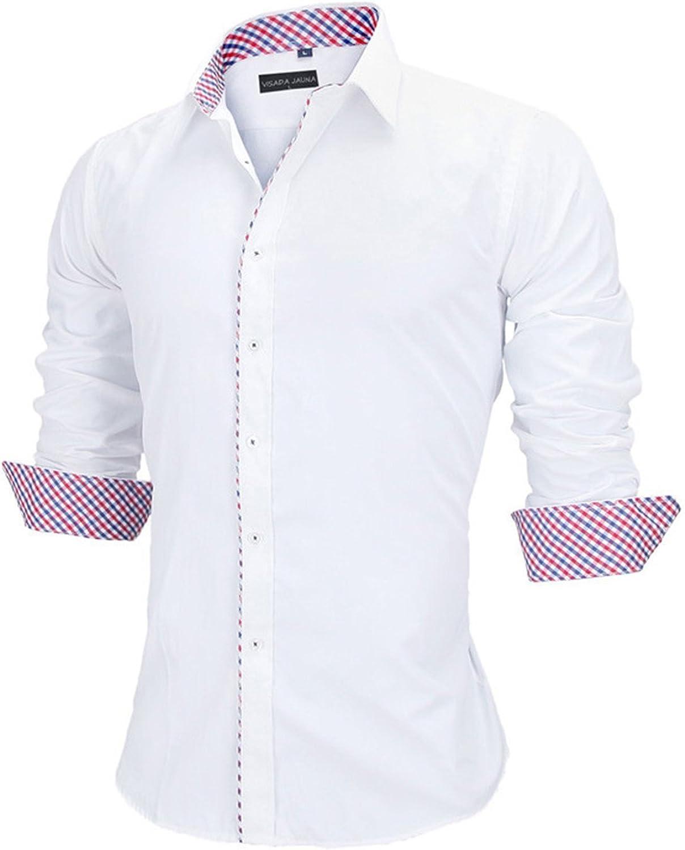 Swimblue European Size Men Shirts New Fashion Shirt Casual Style Long Sleeve Cotton Male Shirt