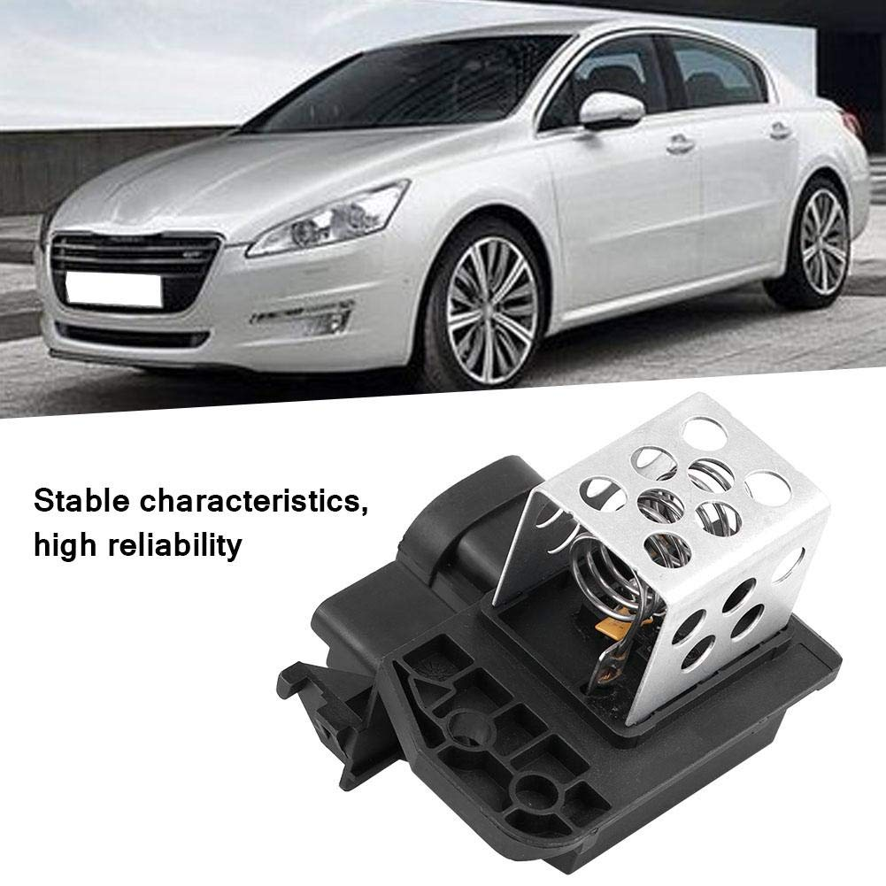 ABS for Citroen Berlingo C1 C4 Xsara Peugeot 107 206 307 Partner Hlyjoon 9673999880 Cooling Blower Fan Motor Resistor Aluminum