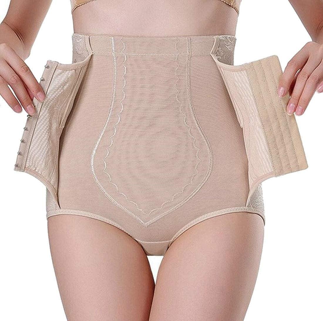 Women Shapewear Panties Body Shaper High Waist Tummy Control Slimming Briefs