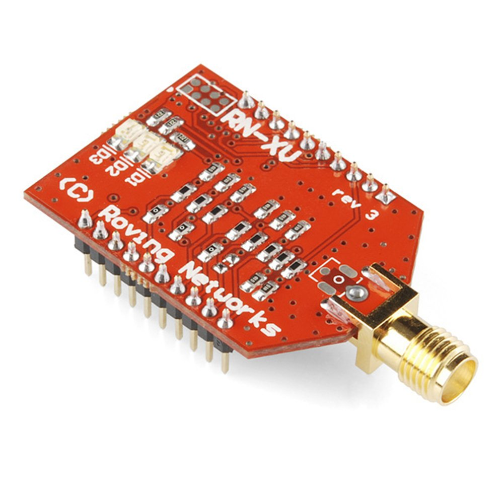 RN-XV WiFly Module - RP-SMA Connector RN-171 RN-XV Wifly Wireless Wifi Module Compatible With Xbee Interface by ALSR