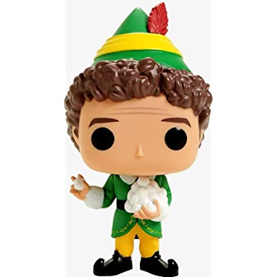 Funko Pop! Movies Elf Buddy Elf #488 (With Snowballs): Toys & Games