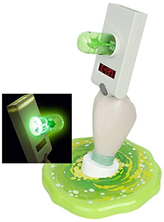 Paladone LAMPARA Rick & Morty, 2.5 W, Portal Gun Lamp ...