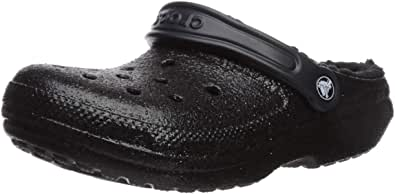 Crocs Men's Classic Glitter Lined Clog