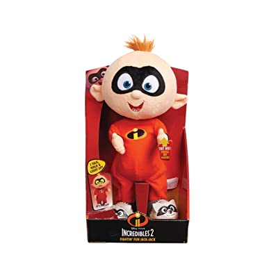 "The Iredibles Fightin' Fun Jack 15"" Plush, Red: Toys & Games"