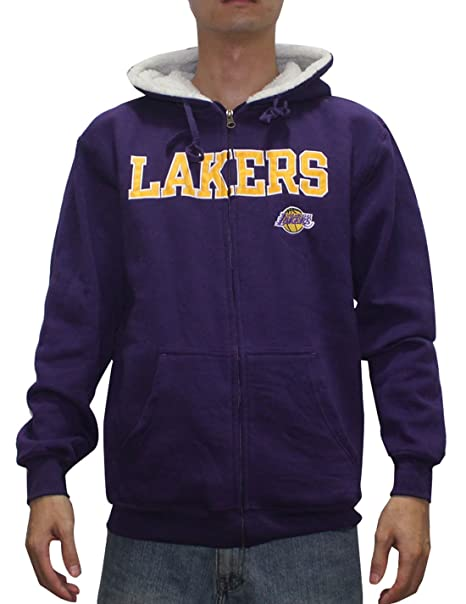 Zippé Angeles Poidsveste Los Nba Homme Sweat À Pour Lakers Capuche qTIp1w4