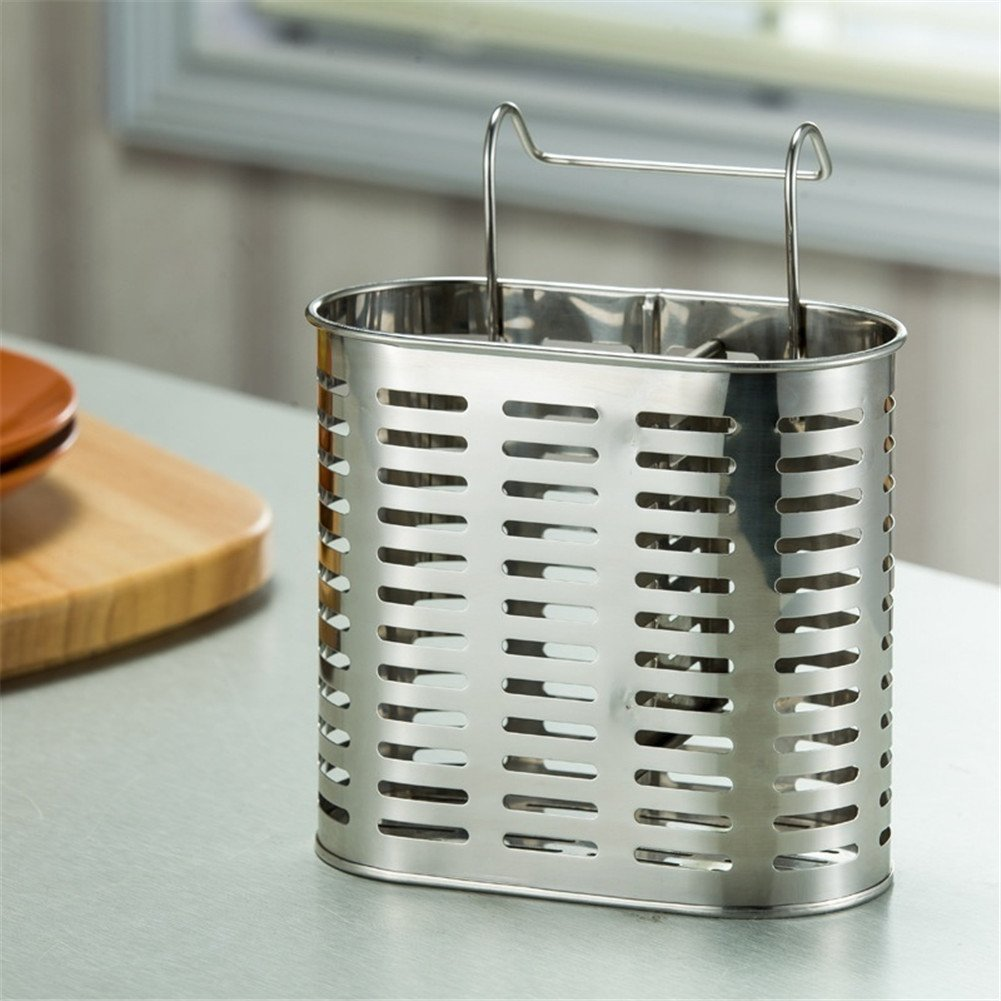 Amazon.com | Simonshop Stainless Steel Cutlery Draining ...