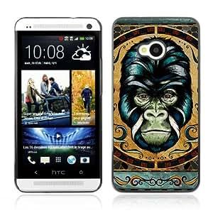 Designer Depo Hard Protection Case for HTC One M7 / Detailed Gorilla