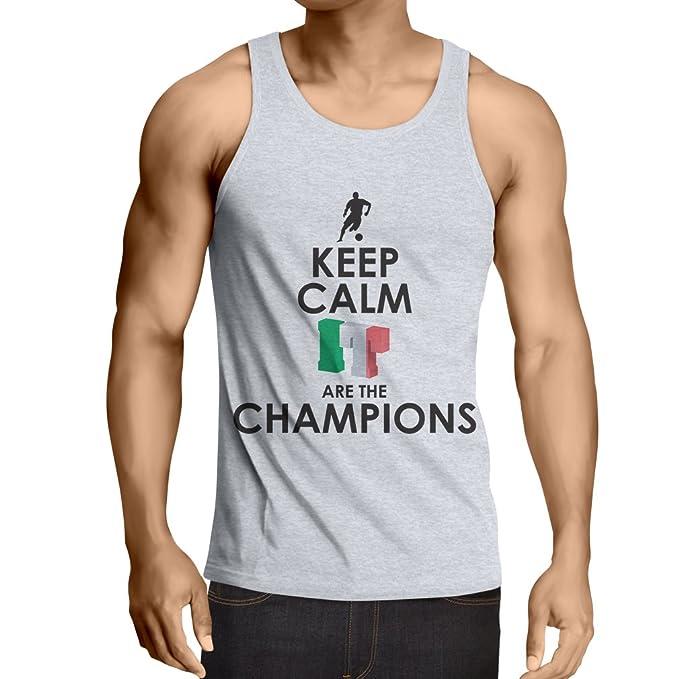 Camisetas de Tirantes para Hombre Los Italianos Son los campeones, el Campeonato de Rusia 2018
