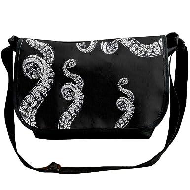 dffe6de4ce5f Amazon.com: Octopus Tentacles Mens Crossbody Bag Sling Bags Fashion ...