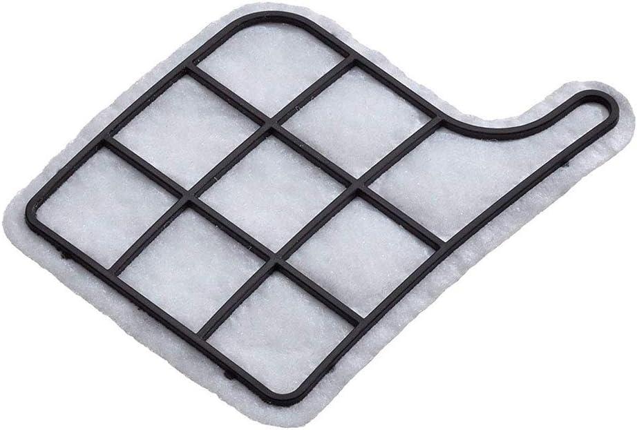 Microfiltro Cobeky Juego De Filtro 2 Filtros De Protecci/ón del Motor + 2 Filtros Hepa Microfiltro//Filtro Hepa Adecuados para Vorwerk Kobold Vk 135, 136 Filtro del Motor