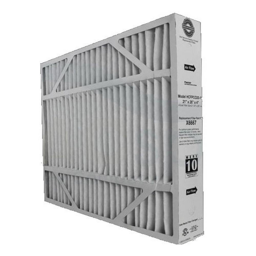 Heating, Cooling & Air Lennox X6667 MERV 11 Filter - 21'' x 26'' x 4'' by Air Conditioners