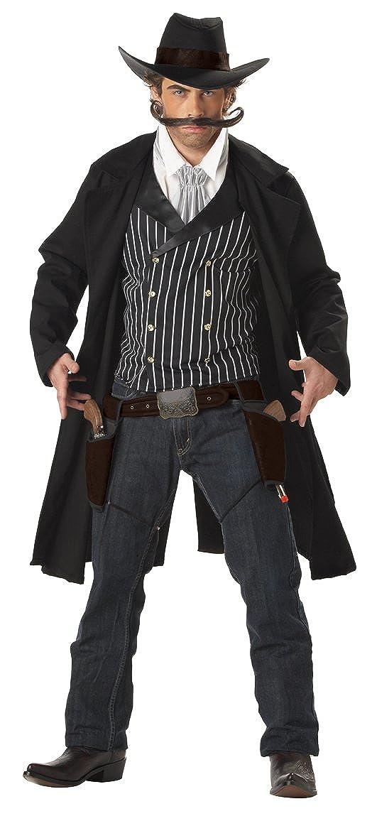 sc 1 st  Amazon.com & Amazon.com: California Costumes Menu0027s Gunfighter Costume: Clothing
