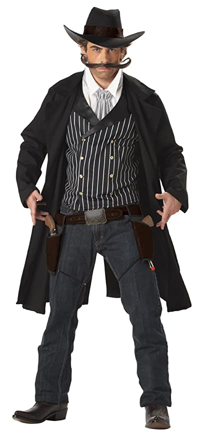 Victorian Men's Costumes  Mens Gunfighter Costume  AT vintagedancer.com