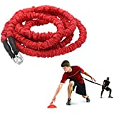 YNXing Resistance Training Rope Explosive Force Bounce Physical Training Resistance Rope Improving Speed, Stamina and…