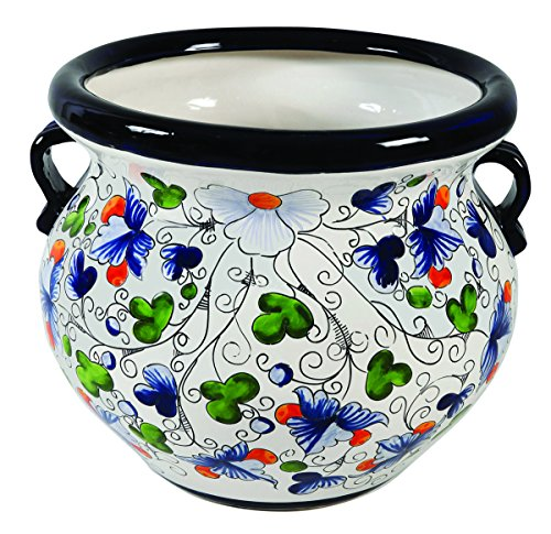 TALAVERA PLANTER (X-LARGE, VIOLET) by Talavera Pottery Store