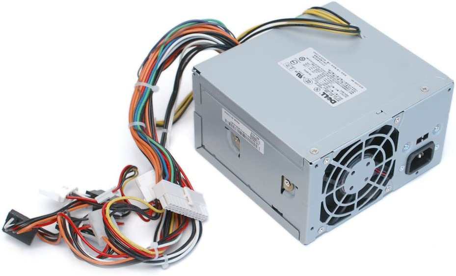 Genuine Dell F4284 X2634 350W Power Supply (PSU) Power Brick Power Source, For Dimension 4700, 8400 and OptiPlex GX280 Tower, Identical Dell Part Numbers: C4849, C3629, G4265, Identical Model Numbers: N350N-00 / N350P-00 / L350P-00 / PS-6351-1DS / PS-6351-1DFS / NPS-350CB A / NPS-350CB B / NPS-350DB A