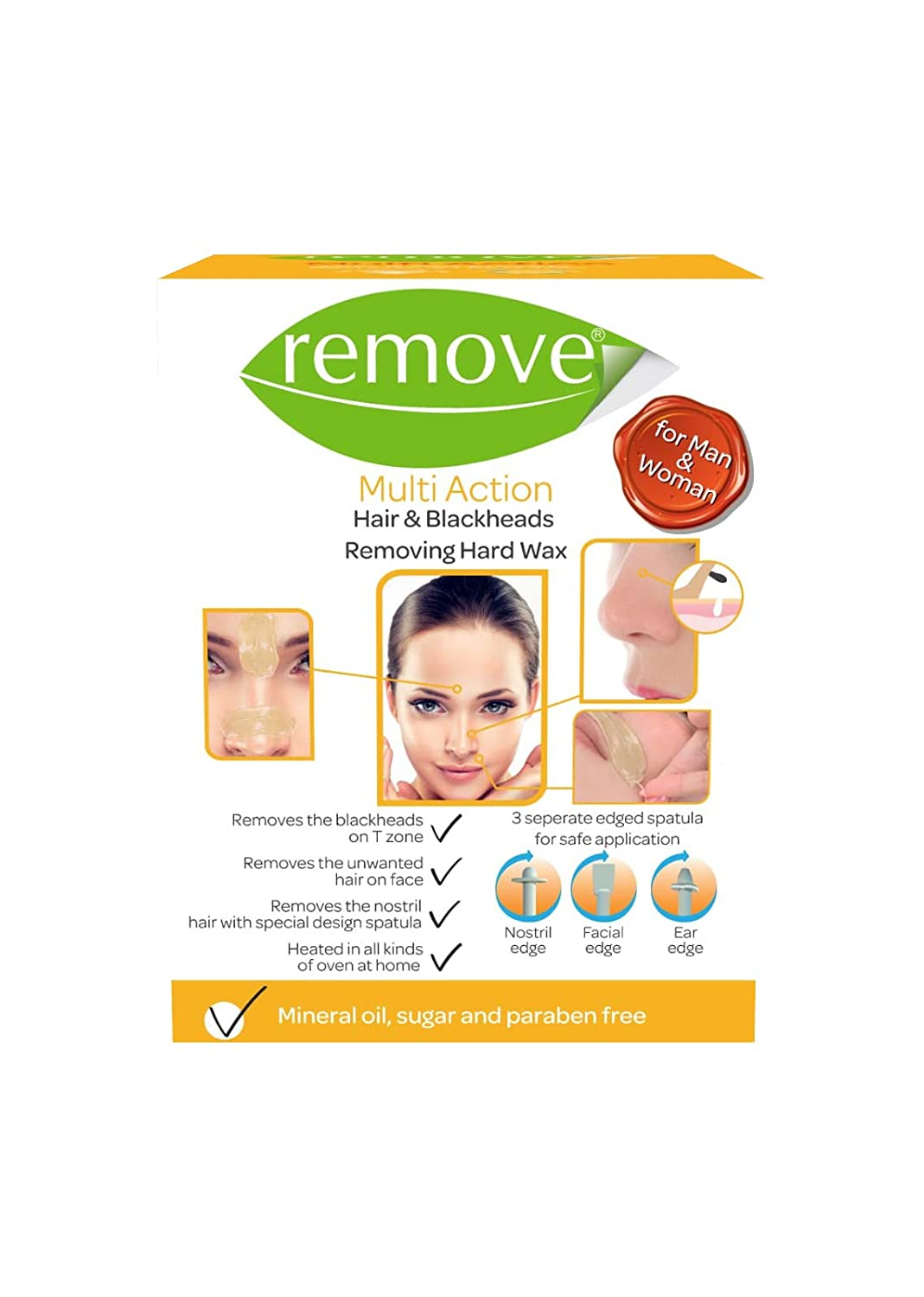 Amazon com : REMOVE Multi Action Hair & Blackhead Removing