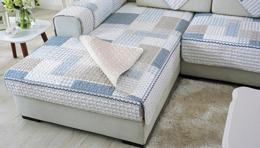 Carpet.a ANDEa Semplice Moderna Pad Sofa Cover Combinazione Asciugamano Set Antiscivolo Panno di Cotone Twill Quattro Stagioni Cuscino Originalit/à Dimensioni : 45 * 45cm