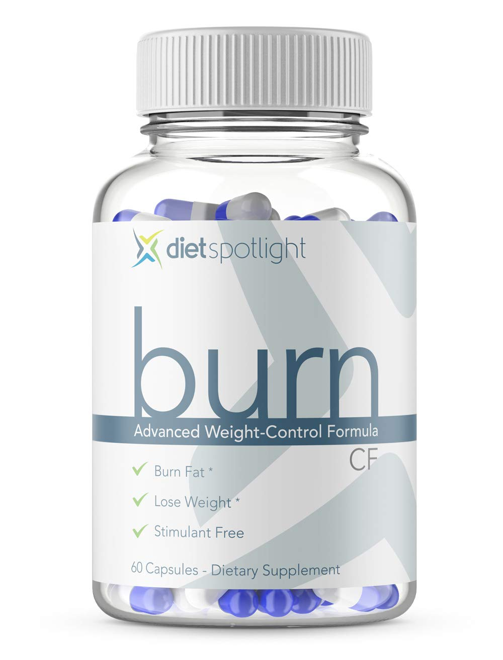 Burn TS Caffeine Free - Weight Loss Formula Metabolism & Energy Booster, Appetite Suppressant & Effective Thermogenic Supplement (1 Month Caffeine-Free) by Dietspotlight