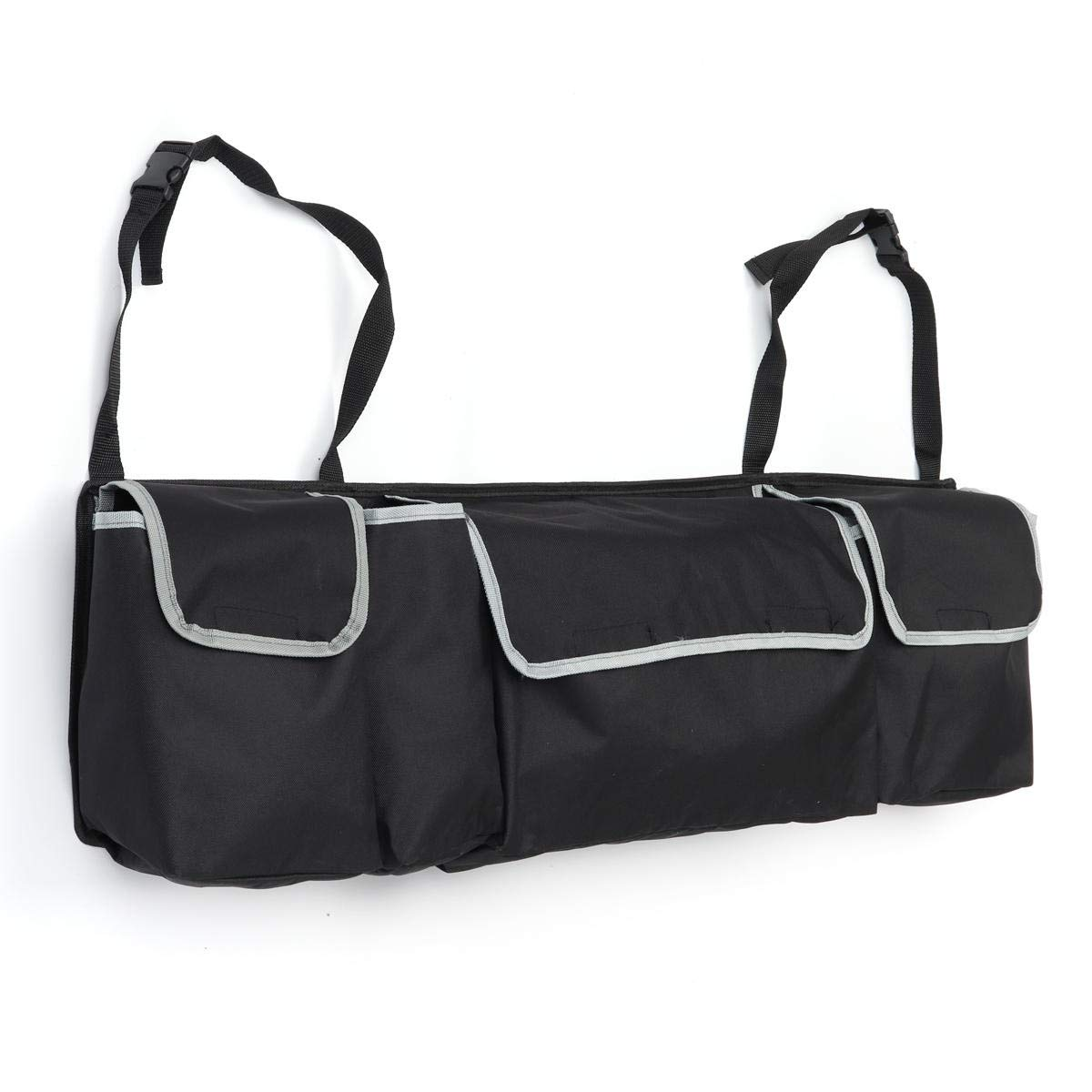 F.S.M. Outdoor Travel Car Seat Back Storage Bag Hanging Pack Pouch Rear Trunk Organizer by F.S.M.