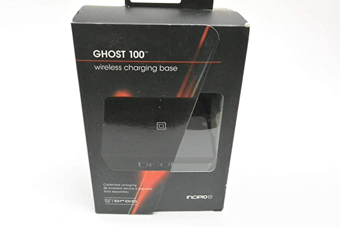 online store 58973 d8264 Incipio Ghost100 Wireless Qi Charging Pad - Black (PW-150) (Pre-Owned)