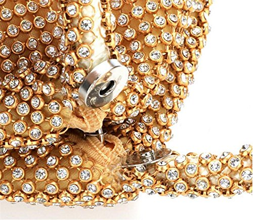 Black Bags Sparkles Dress Rhinestone Party Women Clutch WBAG Evening Wedding Handbag Beaded q56Px