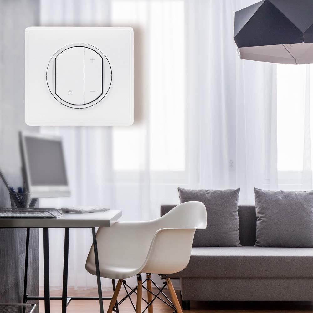Legrand jusqu/'/à 400W Blanc Celiane Interrupteur variateur toutes lampes ref 99568