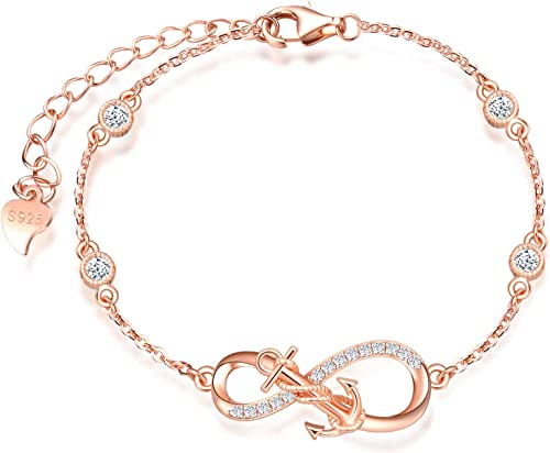 S925 Sterling Silver Earrings Bracelet Necklace Christmas Chain Set Gift UK