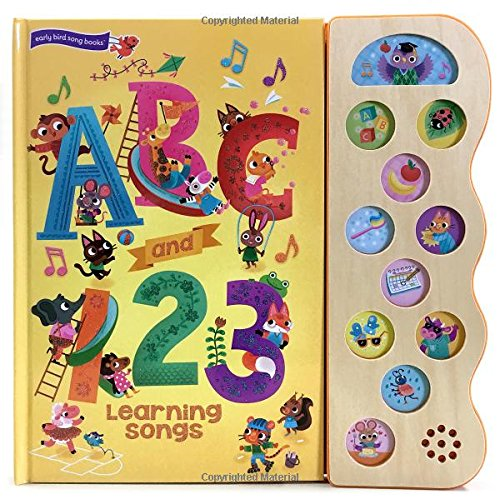 ABC & 123 Learning Songs: Interactive Children's Sound Book (11 Button Sound) (11 Button Sound Book)
