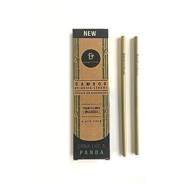 BamBoo Roots Reusable Bamboo Drinking Straws
