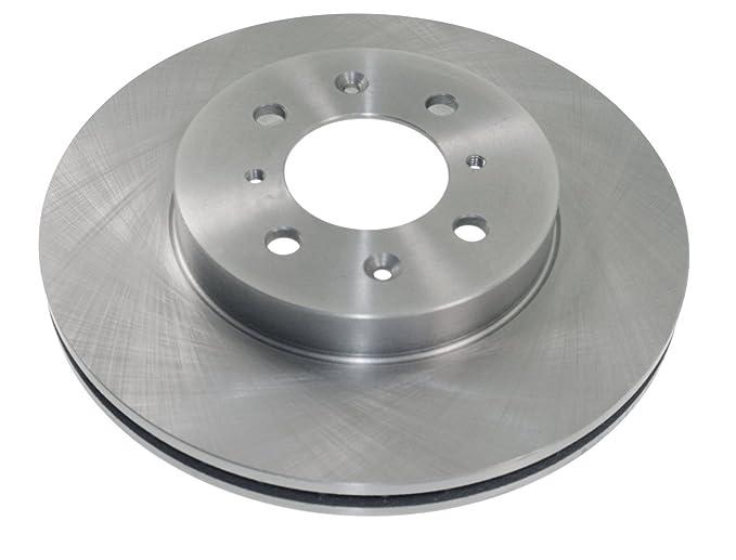 Brake Discs Full Axle Set 234mm Solid Fits Kia Picanto Rear Brake Pads