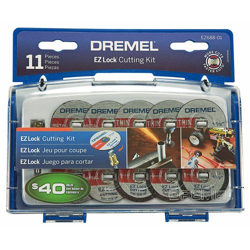 Dremel EZ688-01 11-Piece EZ Lock Cutting Kit